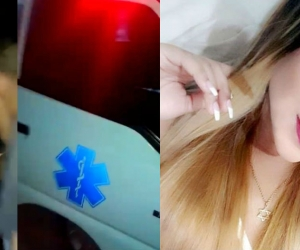 Denuncian el presunto hurto de celulares en el accidente de la bailarina Karolay Gaitán.