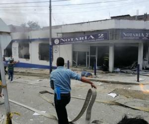 Explosión en Yumbo, Valle del Cauca