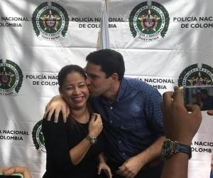 Camilo George estrechó sus relaciones con Norma Vera.