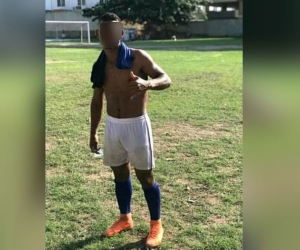 Joven futbolista asesinado.