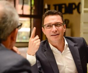 Carlos Caicedo, precandidato a la Gobernación del Magdalena.