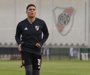 El volante colombiano se recupera de una lesión de rodilla.