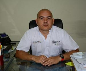 Dani Daniel Fandiño, alcalde encargado de Ciénaga.