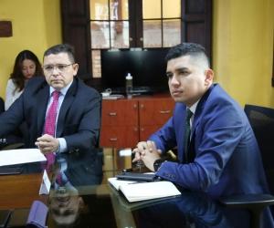 El alcalde Rafael Martínez se reunió con el ministro de Vivienda, Jonathan Malagón.