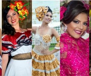 Candidatas al Imperialato Nacional de la Cumbia