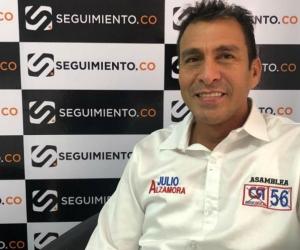 El candidato a la Asamblea Julio Alzamora de visita en Seguimiento.co