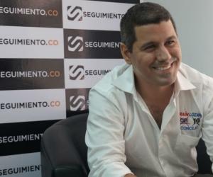 Efraín Lozano, visitando Seguimiento.co