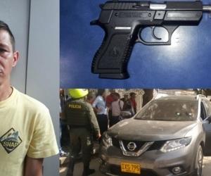 Édison Eduardo Quintero Pitar, el taxista que fue señalado por las autoridades de participar en el asesinato de la docente Aury Estela González-Rubio