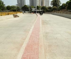 Obras en Santa Marta