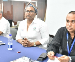 Mesa del primer encuentro 'Una Mirada al Fenómeno de la Discriminación'