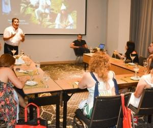 Secretarios de turismo departamental y distrital se reunieron con agentes de países de Argentina, Chile y Brasil.