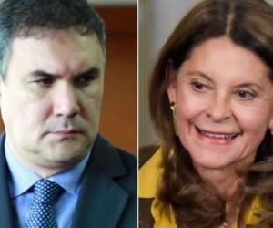 Miguel Nule y Marta Lucía Ramírez.