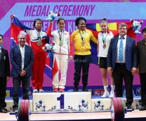 La oriunda de Santa Marta vuelve a subirse a un podio internacional.