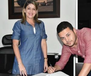 Andrés Correa Sánchez toma posesión como Secretario de Promoción Social, Inclusión y Equidad del Distrito. 