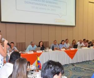 Consejo de Gobierno ampliado, así le llamaron al evento conjunto de la Gobernación y la Alcaldía.