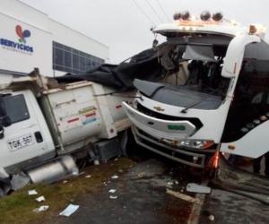 Accidente en El Rosal /