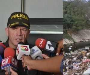 General Ricardo Alarcón, Comandante de la Policía Metropolitana de Barranquilla.