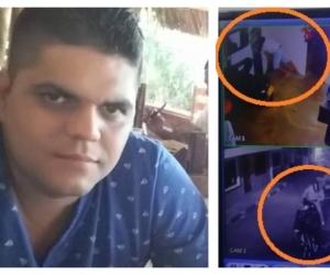 Elkin Arias, carnicero asesinado.