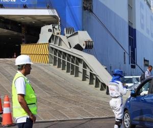 La importaciónd e vehículos se vio afectada durante la pandemia.