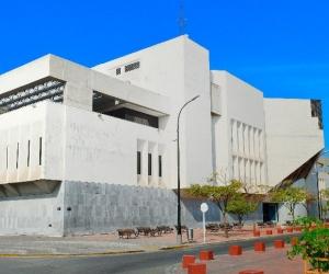 Banco de la República en Santa Marta.