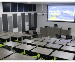 La inversión total en estas cuatro obras que se entregan a la comunidad universitaria asciende a cerca de 2.400 millones de pesos.