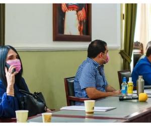 Diputados del Magdalena se reunieron en sesión reservada con las fuerzas militares para tratar temas de seguridad en el departamento.