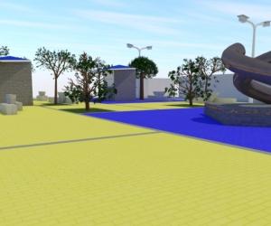 Esta es la plaza que propone construir la alcaldía de Puebloviejo con recursos de regalías.