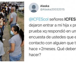 Quejas en varias ciudades por organización de las pruebas del Icfes.