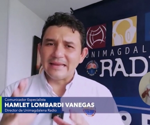 Hamlet Lombardi, director Unimagdalena Radio.