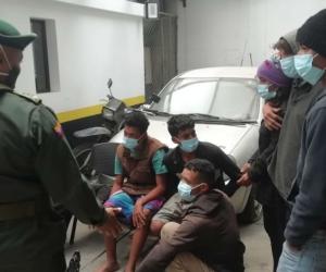 Venezolanos expulsados por Migración Colombia.
