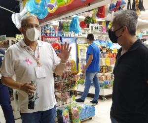 Controles en El Rodadero.