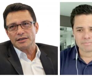 Carlos Caicedo terció en la pelea entre Luis Carlos Vélez y Cathy Juvinao.