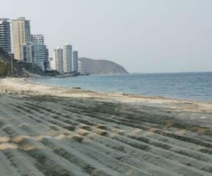 Playa de Santa Marta.