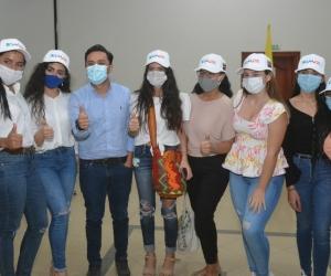 Jóvenes del Magdalena participaron activamente del evento.