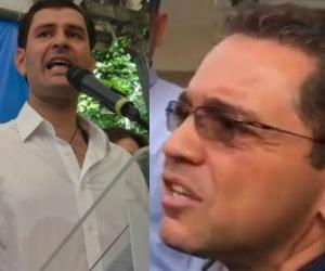 Mello Cotes y Rafael Martínez.