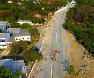 Imagen de archivo de la ciudad de Santa Marta; imagen de contexto, no relacionada con la noticia.