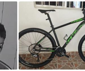 Esta bicicleta fue hurtada el pasado domingo en Andrea Carolina.