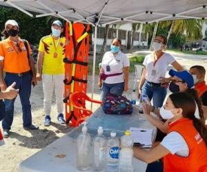 La red de salud se encuentra atenta para atender eventuales heridos que deje el huracán IOTA en el archipiélago de San Andrés.
