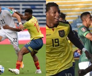 Ecuador viene de vencer a Bolivia, mientras que Colombia de perder por goleada ante Uruguay.