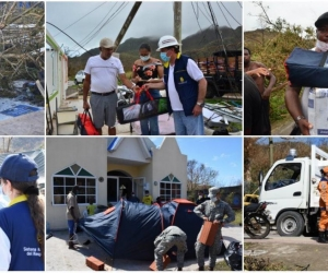 Hospital de campaña en Providencia.