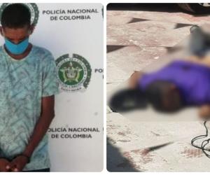 Bernardo Fernández (izq) es señalado de ser el homicida de Juan Guillermo Cardona.