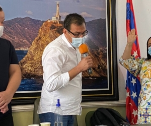 Elección de Claudia Patricia Aarón.