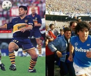 Boca fue el club de sus amores y con el Nápoles vivió los mejores años de su carrera.