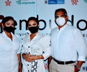 Inauguración de Embudox en Santa Marta.