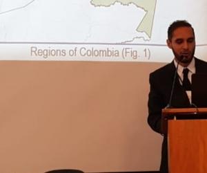 El médico magíster Juan Javier García Bustos, miembro del Grupo de Investigación en Inmunología y Patología (Gipat) de Unimagdalena.