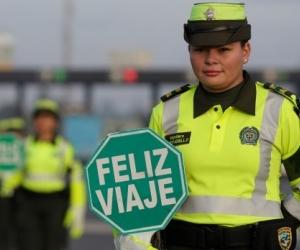 Policías cuidarán de los colombianos en esta Navidad.