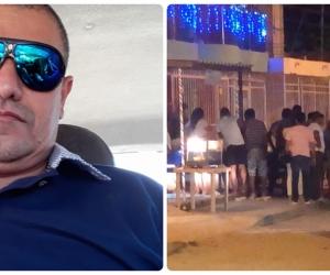 Yesid Sangregorio Royero, asesinado este viernes en Santa Marta por una atraco.