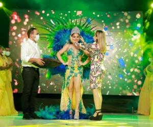 Coronación de la Reina del Festival de la Leyenda del Hombre Caimán