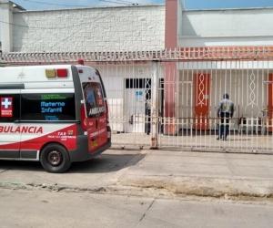 John Sebastián Niebles Padilla es atendido en el Hospital Materno Infantil 13 de Junio.