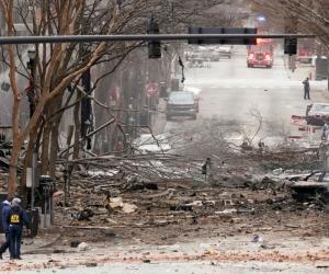 Explosión en Nashville.